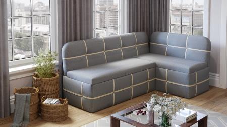 Кухонный диван Майями голубой