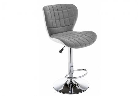 Барный стул Берд серый / белый