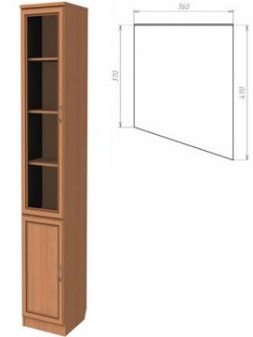 Шкаф для книг (консоль правая) 202