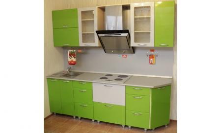 Кухонный гарнитур Лайм 2300 мм