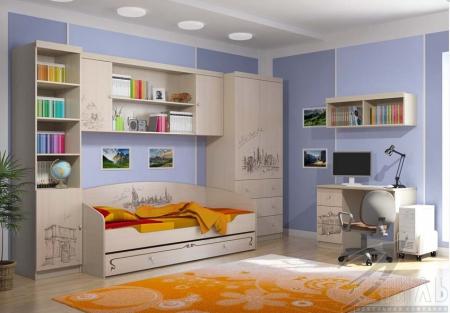 Мебель для детской Мийа 3 Фотопечать Композиция 1