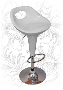 Барный стул 1007 белый