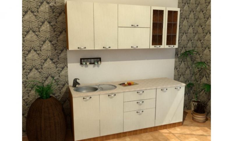 Кухонный гарнитур Ванильный зефир