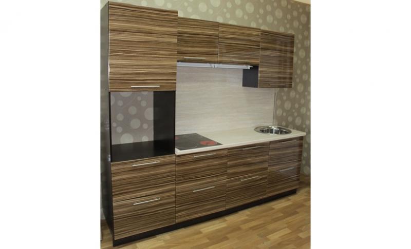 Кухонный гарнитур Кухня Зебрано
